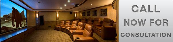 Custom Home Audio Video Theater Installation