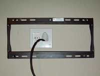 Extend Electrical Power Outlet Behind TV