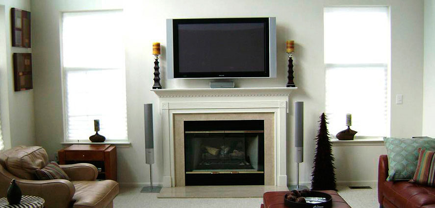 TV Installation Fireplace
