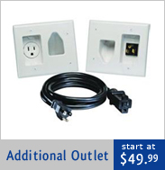 Recessed Wall Outlet