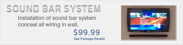 Sound Bar System Installation