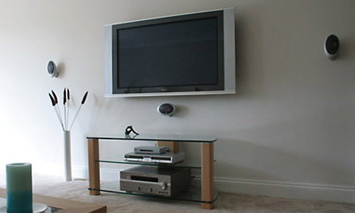 Low Profile Flat Screen TV Mount Bracket
