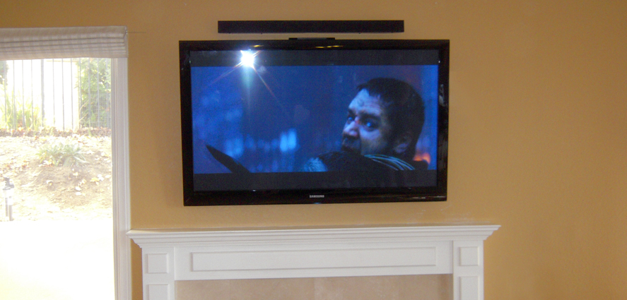 Flat Screen Tv Installation Ideas Home Theater