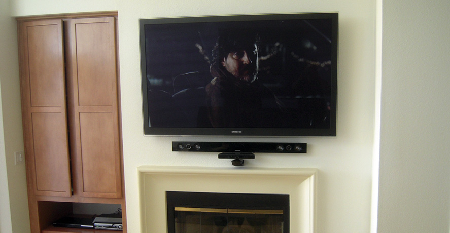 Flatscreen Tv Installation Ideas Home Theater